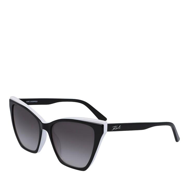 Sonnenbrille, Karl Lagerfeld, KL6033S BLACK/WHITE