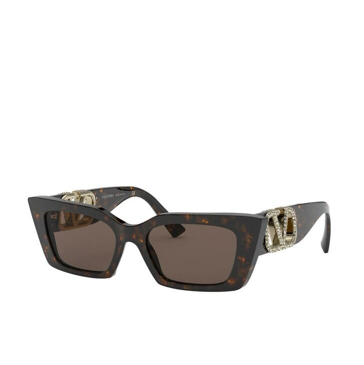 Sonnenbrille, Valentino, Women Sunglasses Allure 0VA4074 Havana