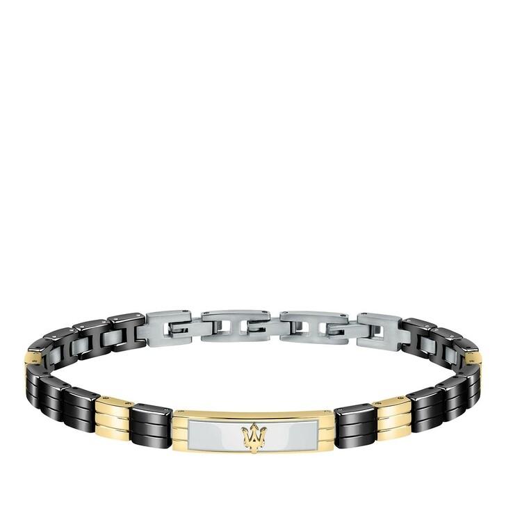 Armreif, Maserati, JM221ATZ06 Bracelet Ceramic Black/Gold