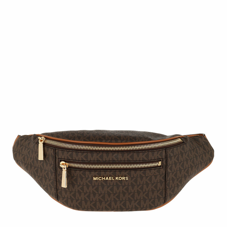Handtasche, MICHAEL Michael Kors, Mott Medium Belt Bag Brown/Acorn