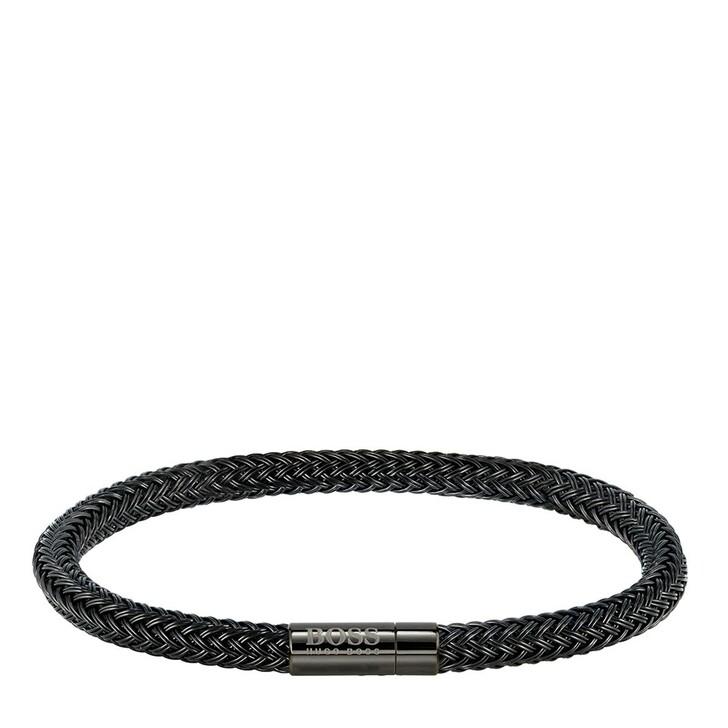 bracelets, Boss, Rope Bracelet Black