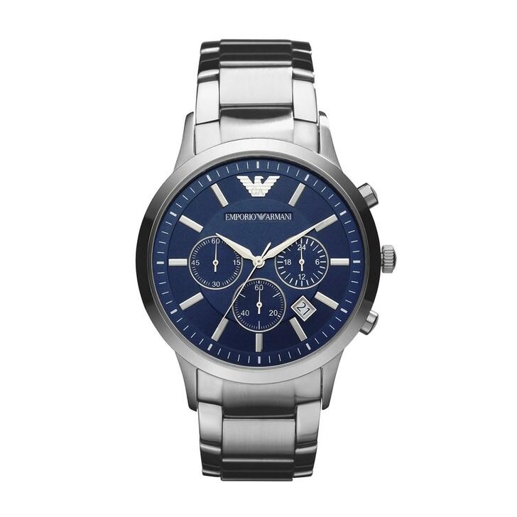 Uhr, Emporio Armani, Renato Dress Watch Silver