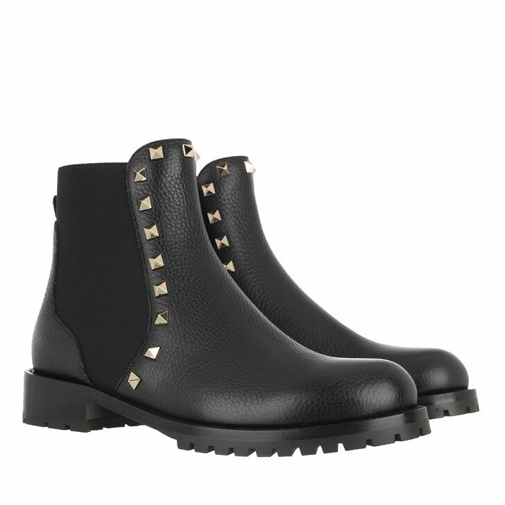 Schuh, Valentino, Beatle Boots Black