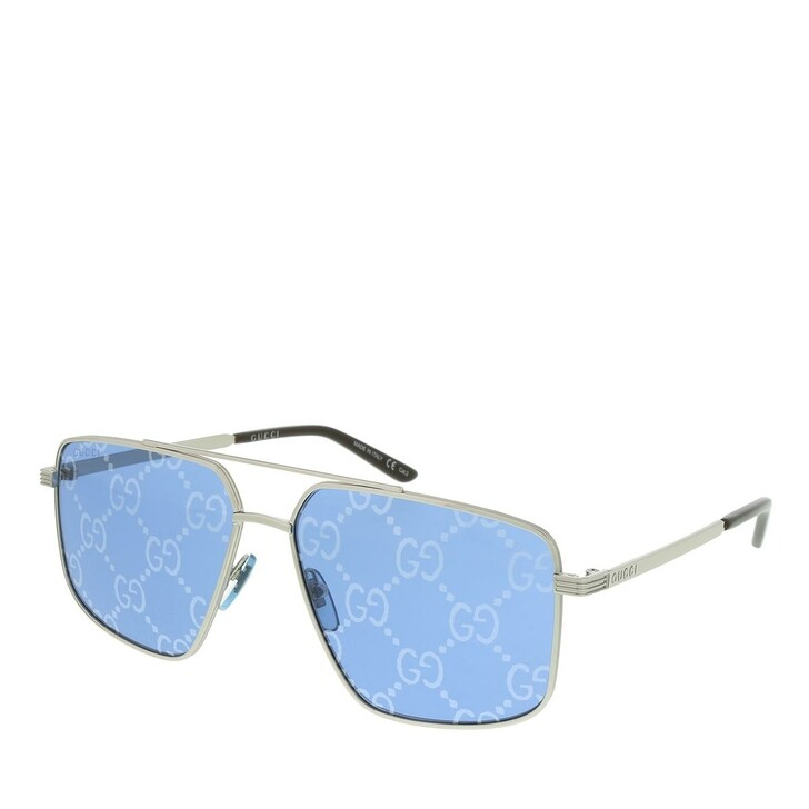 sunglasses, Gucci, GG0941S-004 60 Sunglass MAN METAL SILVER