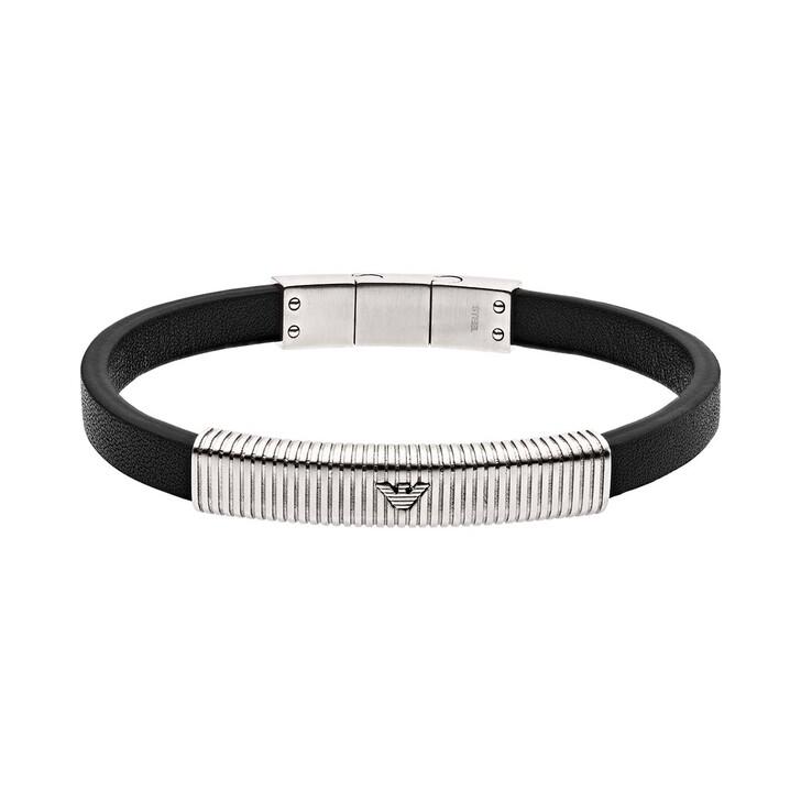Armreif, Emporio Armani, EGS2656040 Men Bracelet Black