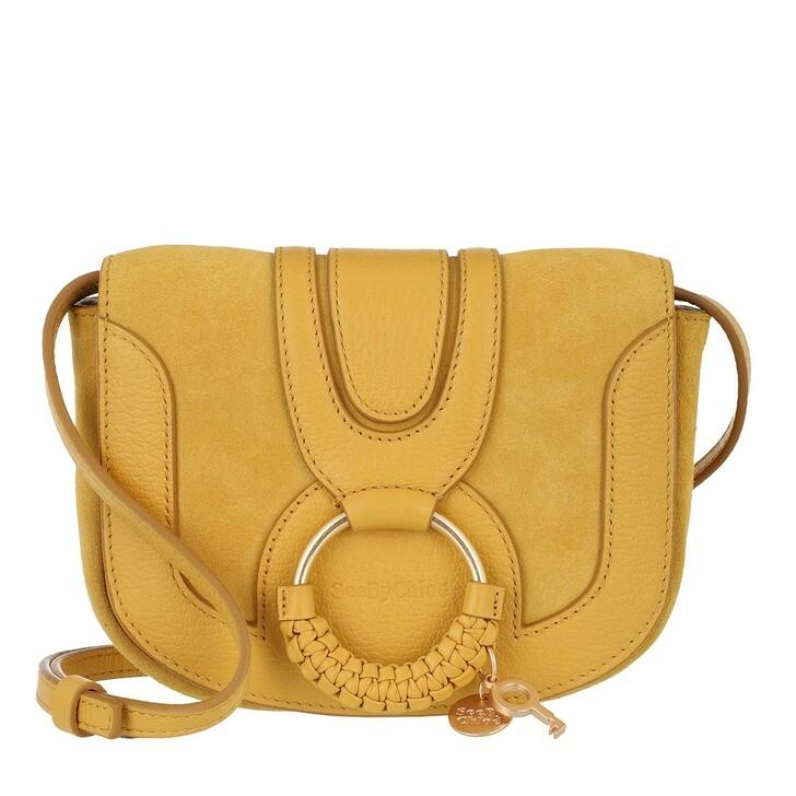 bags, See By Chloé, Hana Mini Bag Misty Gold