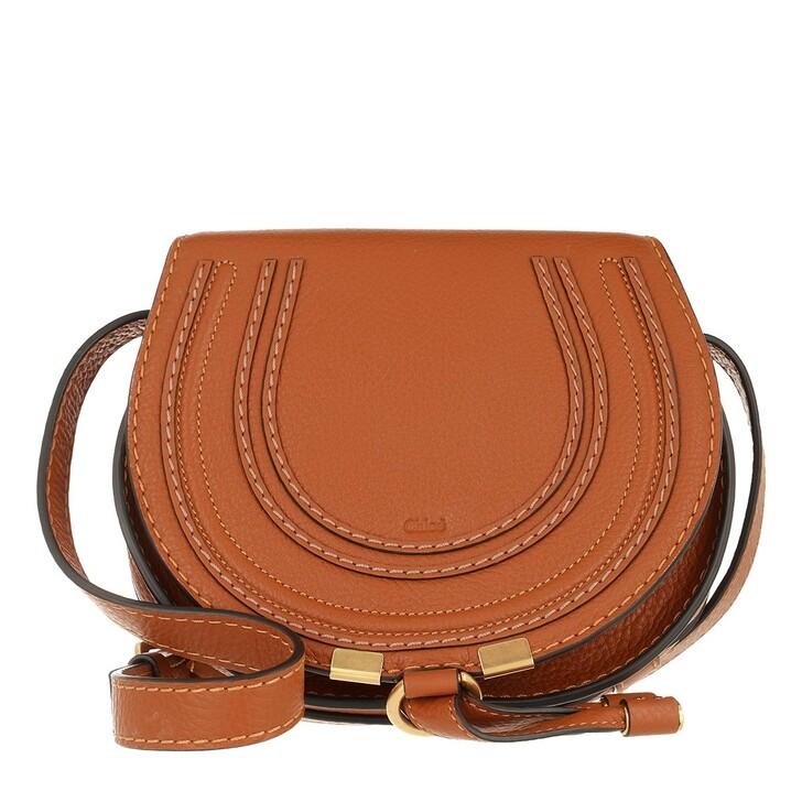 Handtasche, Chloé, Marcie Shoulder Bag Small Tan