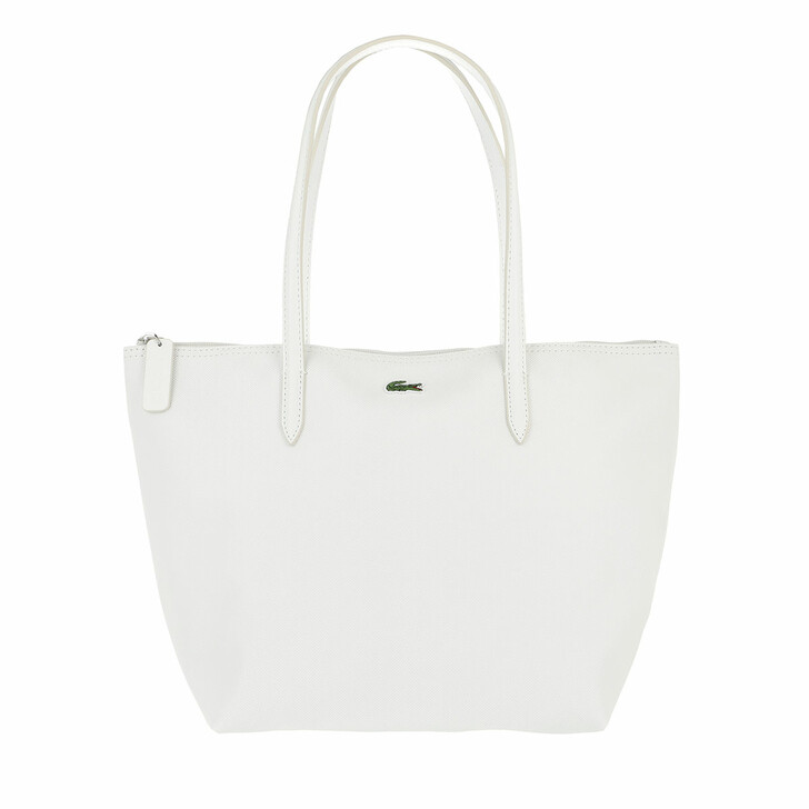 bags, Lacoste, Concept S Shopping Bag Blanc