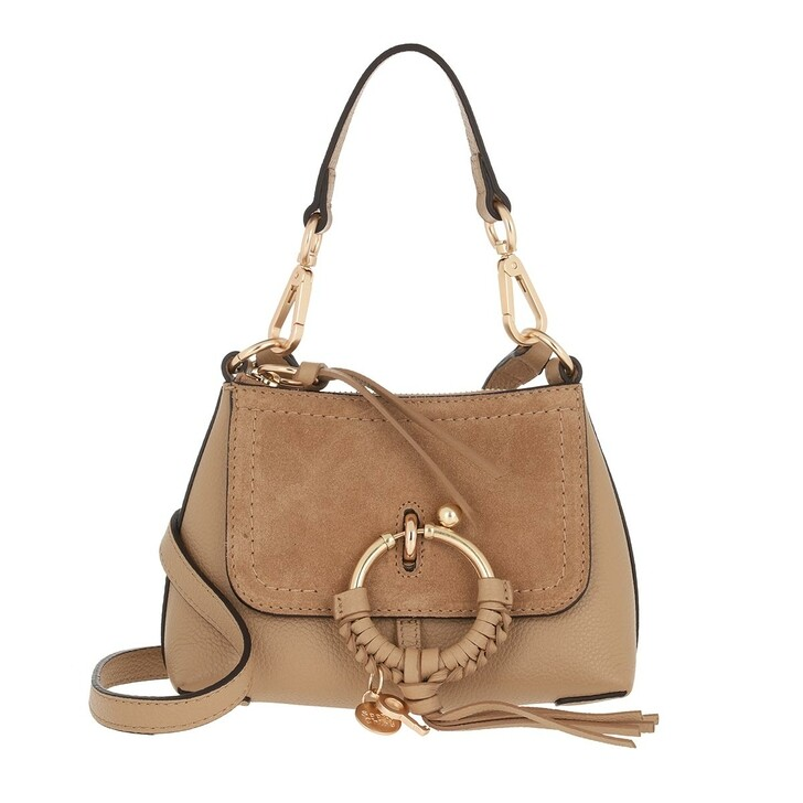 bags, See By Chloé, Joan Crossbody Bag Mini Coconut Brown