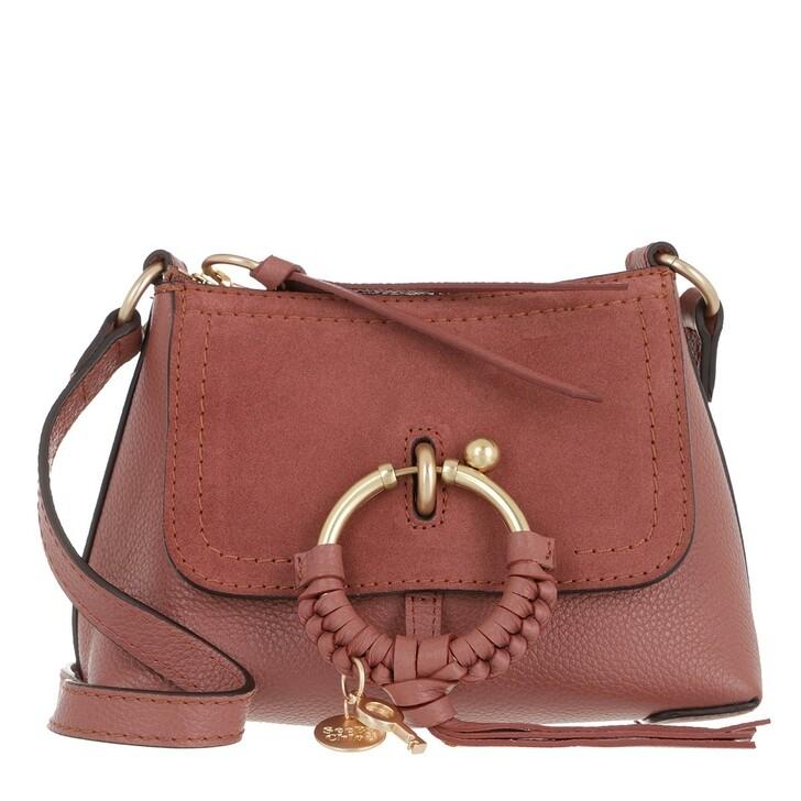 Handtasche, See By Chloé, Joan Crossbody Bag Mini Fawn Brown