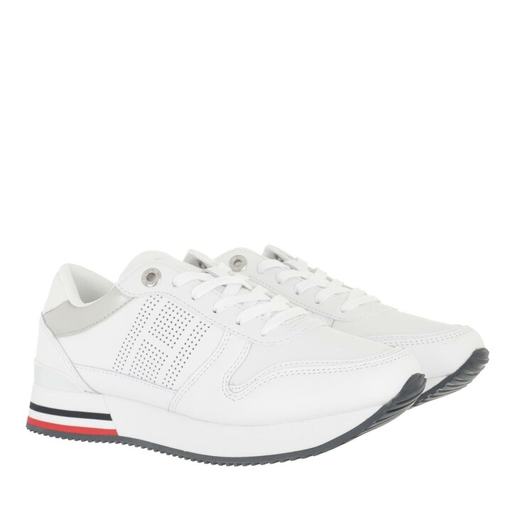 shoes, Tommy Hilfiger, Corporate Active City Sneaker White