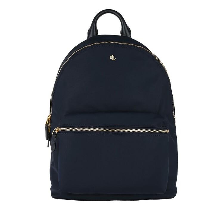 bags, Lauren Ralph Lauren, Clarkson 27 Backpack Medium Navy