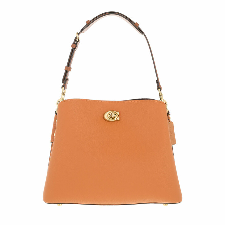 bags, Coach, Colorblock Leather Willow Shoulder Bag Canyon Multi