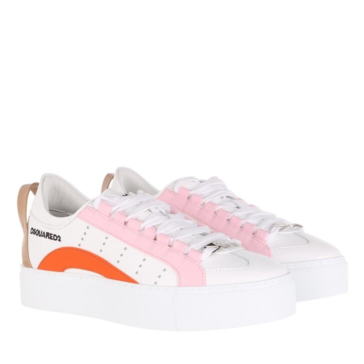 Schuh, Dsquared2, Sneakers Leather White