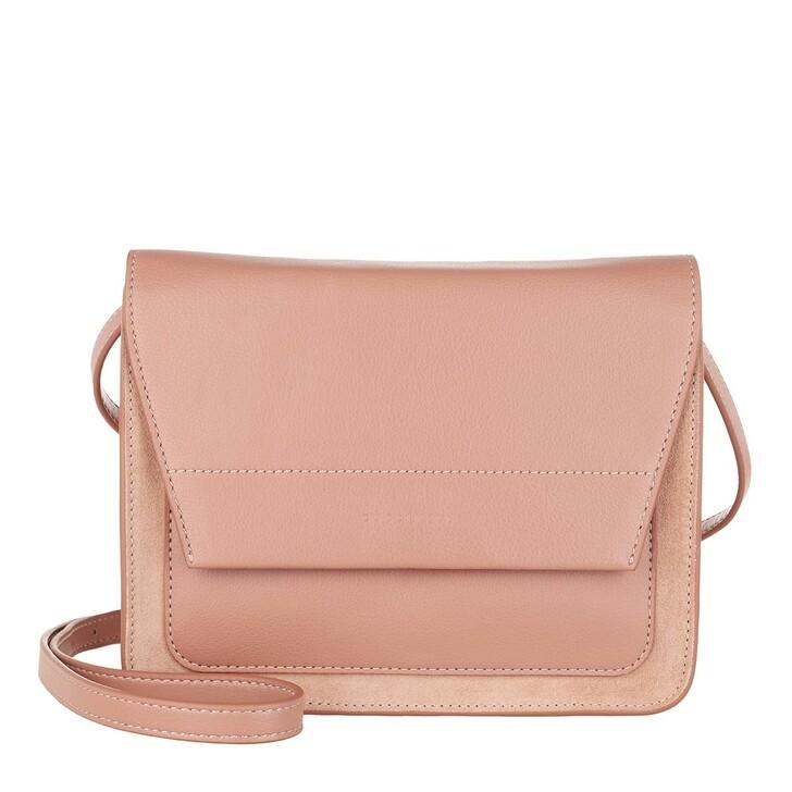bags, Coccinelle, Borsa Pelle Camoscio Ecopelle  New Pivoine/N.P
