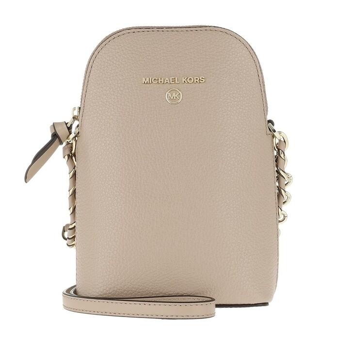 Handtasche, MICHAEL Michael Kors, Jet Set Charm Small Chain Phone Crossbody Bag Truffle