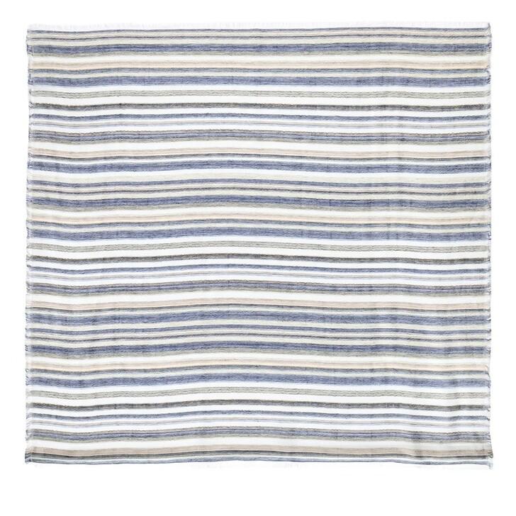 Schal, Closed, Scarf Striped Jaquard Multi Color