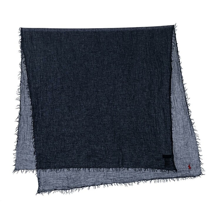 Schal, Polo Ralph Lauren, Solid Oblong Scarf Cruise Navy
