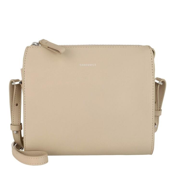 Handtasche, Sandqvist, Frances Shoulder Bag Beige