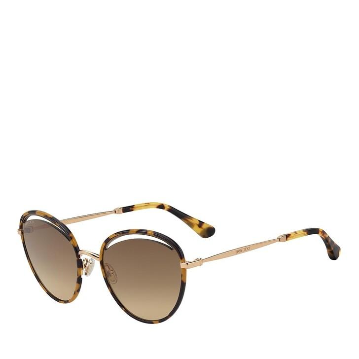 Sonnenbrille, Jimmy Choo, MALYA/S GOLD HAVANA