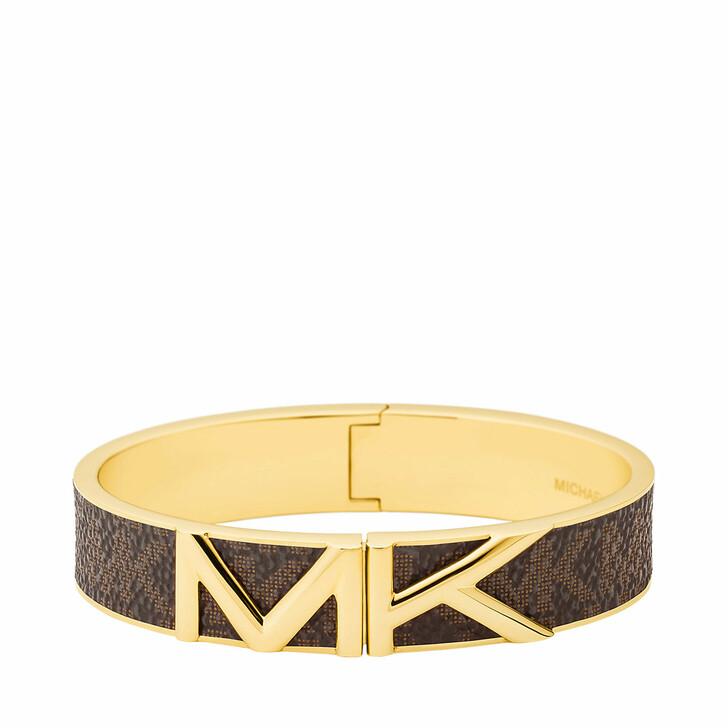 bracelets, Michael Kors, Women's Stainless Steel Bangle Bracelet MKJ7720710 Gold