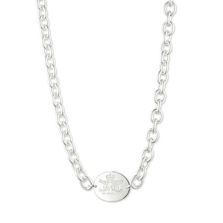 """Kette, Lauren Ralph Lauren, Necklace 17"""" HERITAGE COLLAR Silver"""