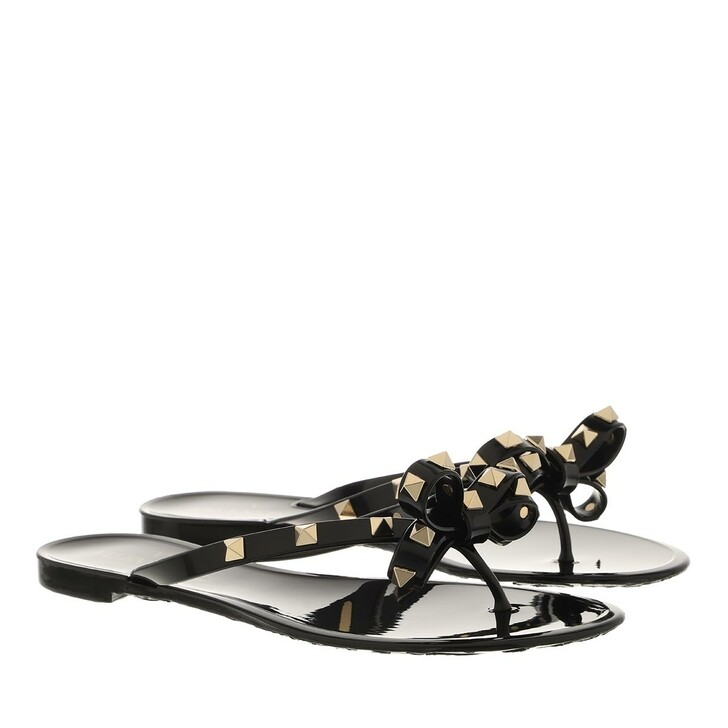 shoes, Valentino Garavani, Rockstud Flip Flops