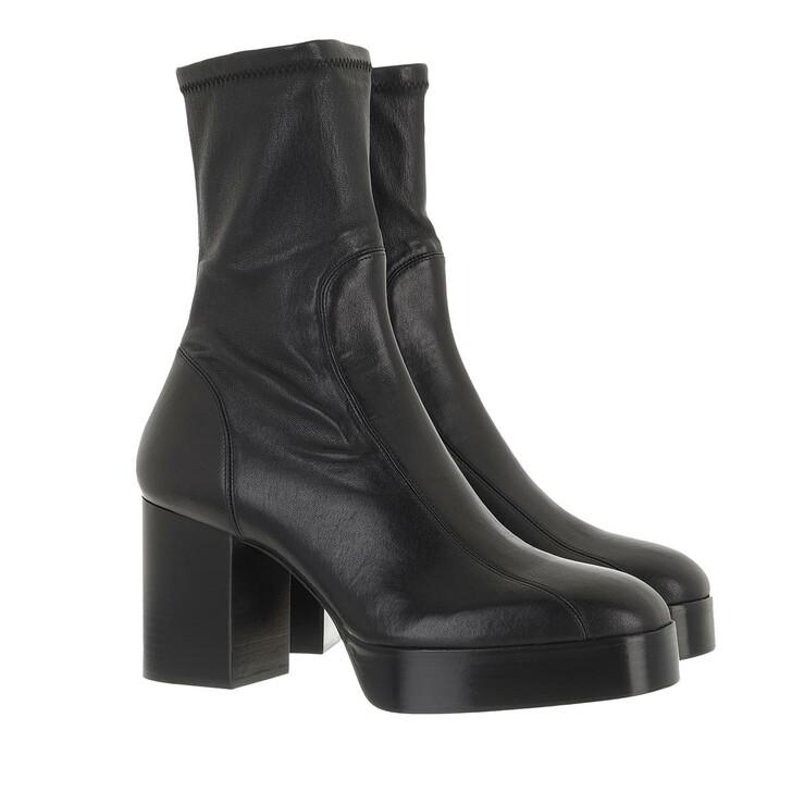 shoes, Chloé, Block Heel Boots Leather Black