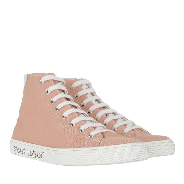 shoes, Saint Laurent, Malibu Mid Top Sneakers Multicolor