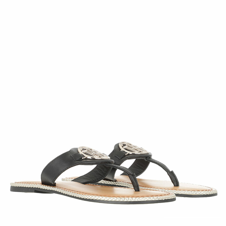 Schuh, Tommy Hilfiger, Essential Flat Sandals Leather Black