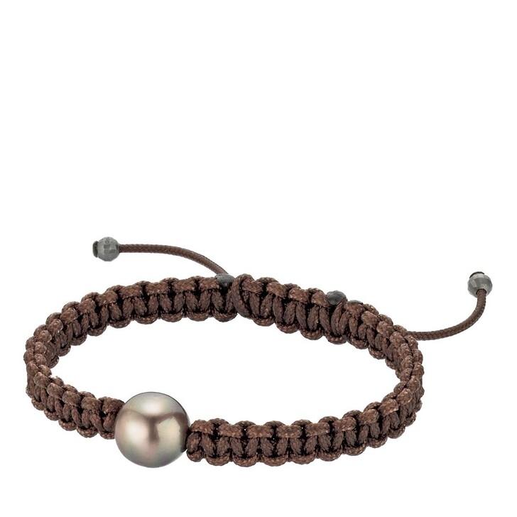 bracelets, Gellner Urban, Bracelet Pearlmates Tahiti Pearl Brown