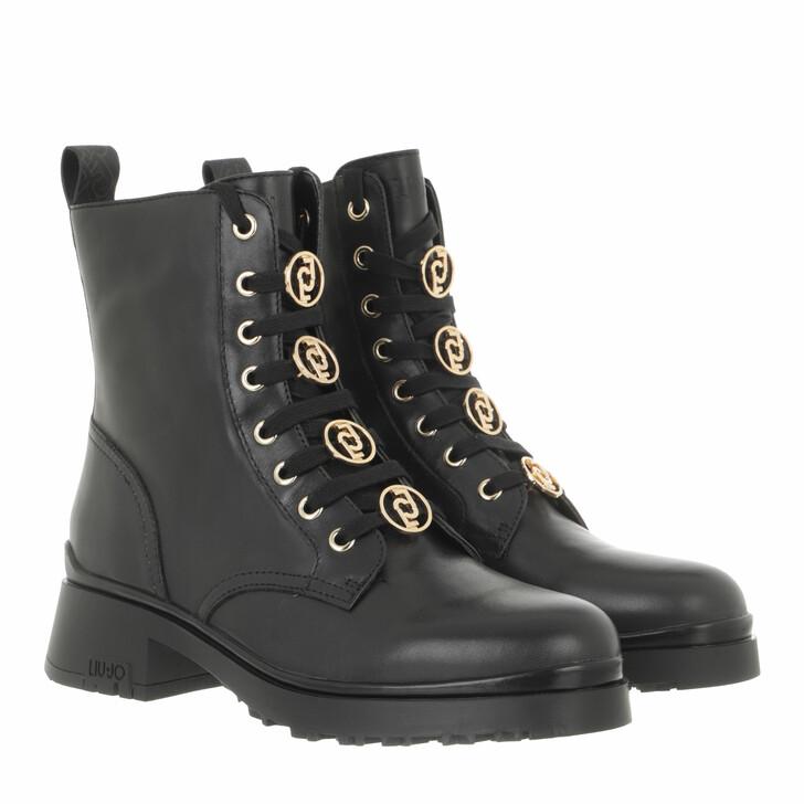 shoes, LIU JO, New Nancy 39  Bootie  Black Grey