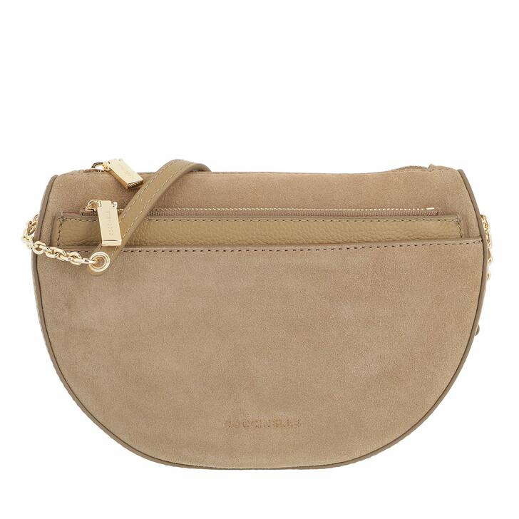 bags, Coccinelle, Mini Bag Mini Bag Bottalatino Leather Taupe