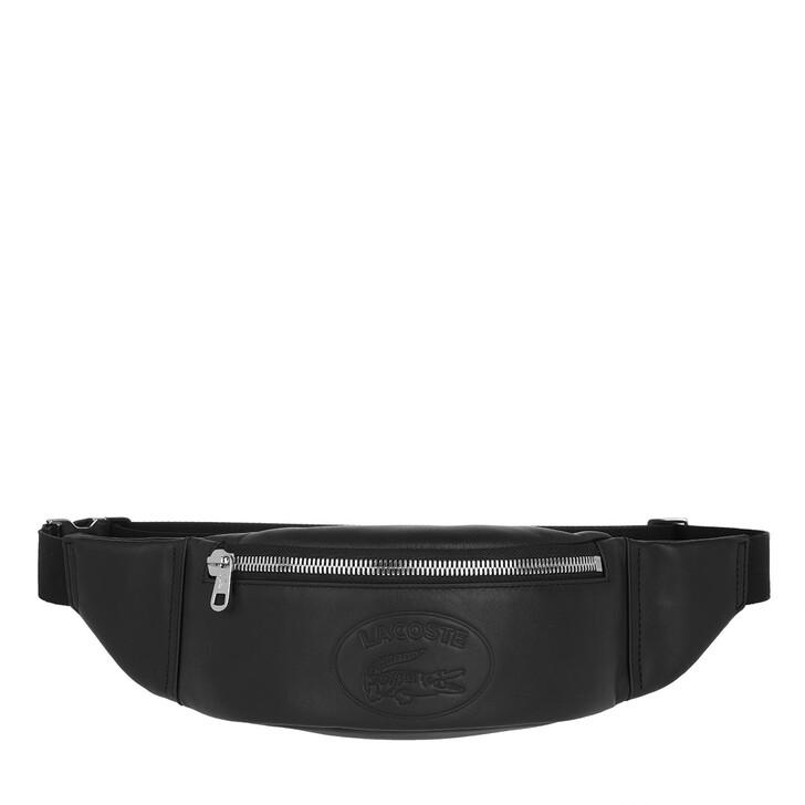 Handtasche, Lacoste, Waistbag Black