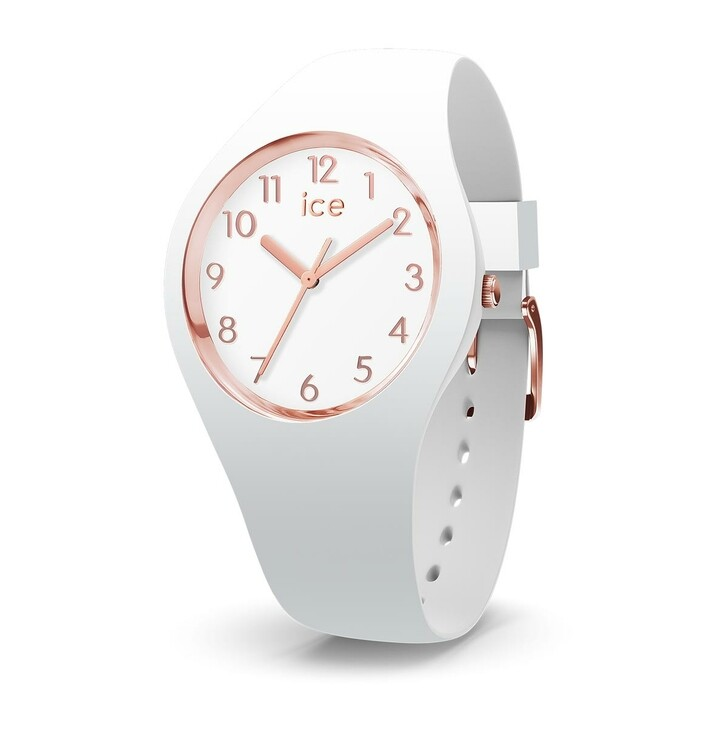Uhr, Ice Watch, ICE GLAM NUMBERS white