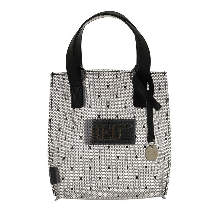 bags, Red Valentino, Tote Transparent/Black