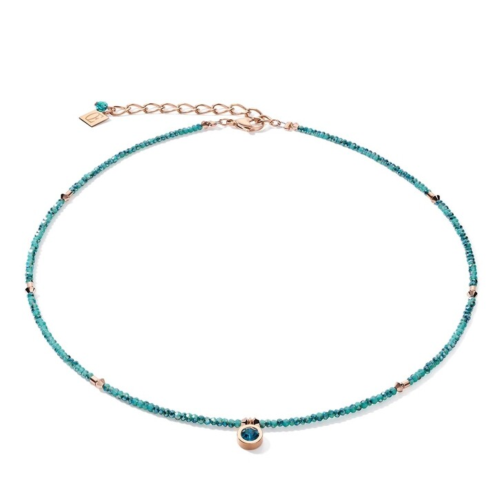 necklaces, COEUR DE LION, Necklace Petrol