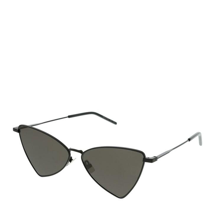 Sonnenbrille, Saint Laurent, SL 303 JERRY-002 58 Sunglass UNISEX META Black
