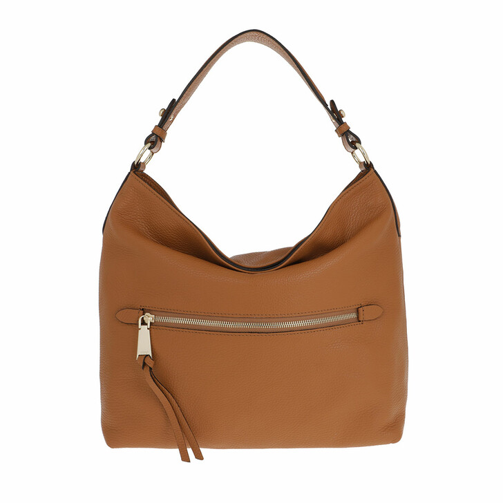 Handtasche, Abro, Hobo Bag Linna Small Cuoio