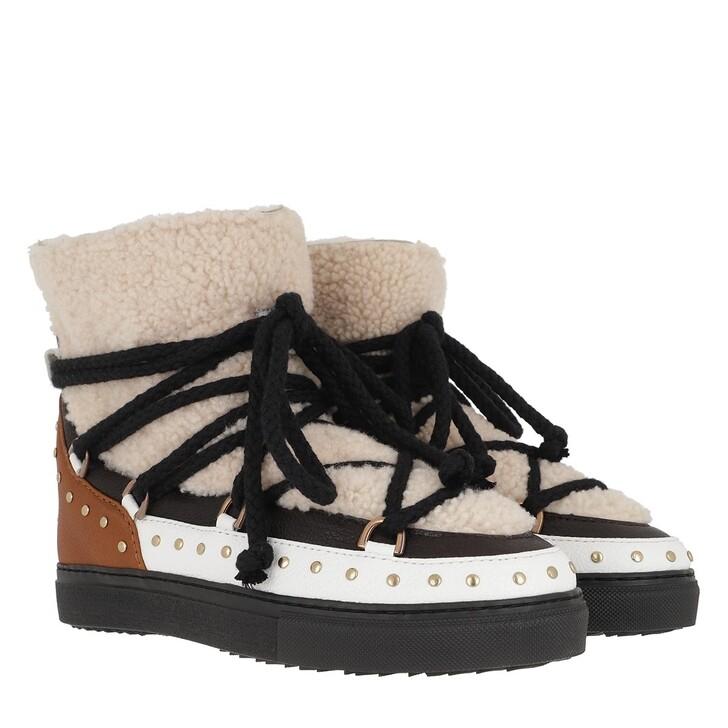 shoes, INUIKII, Women Sneaker Curly Rock Cream