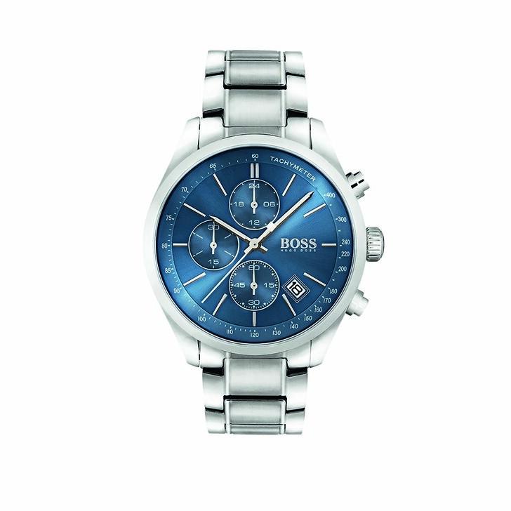Uhr, Boss, Watch Grand Prix Silver