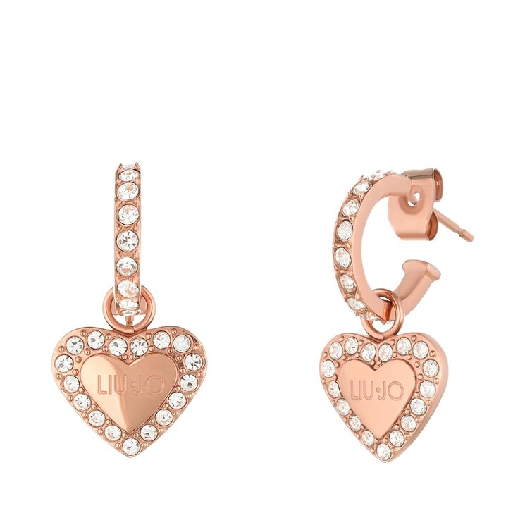 earrings, LIU JO, EARRINGS BRILLIANT Rose Gold
