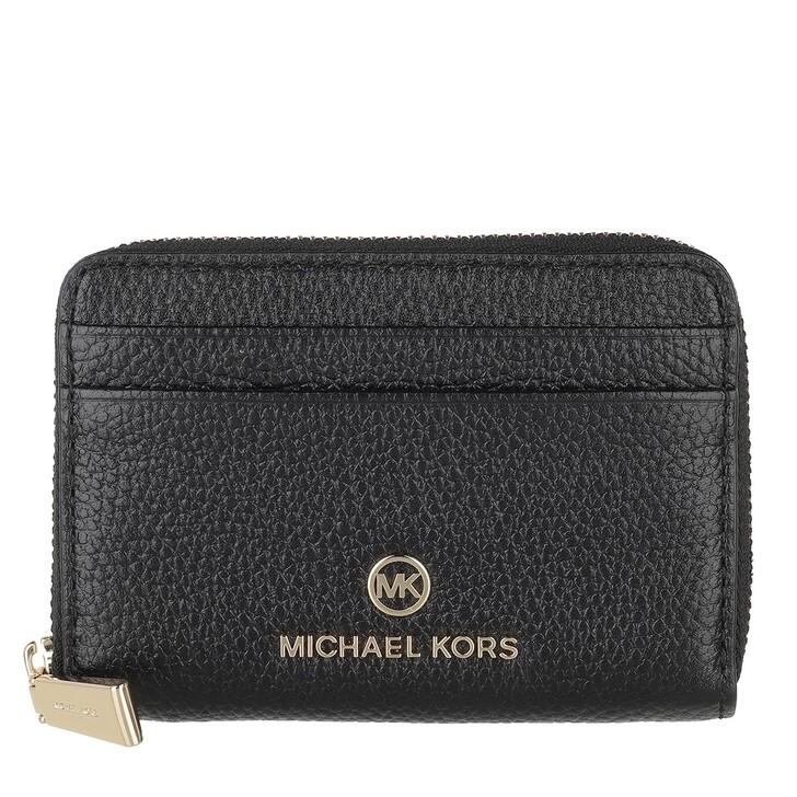 Geldbörse, MICHAEL Michael Kors, Small Za Coin Card  Black