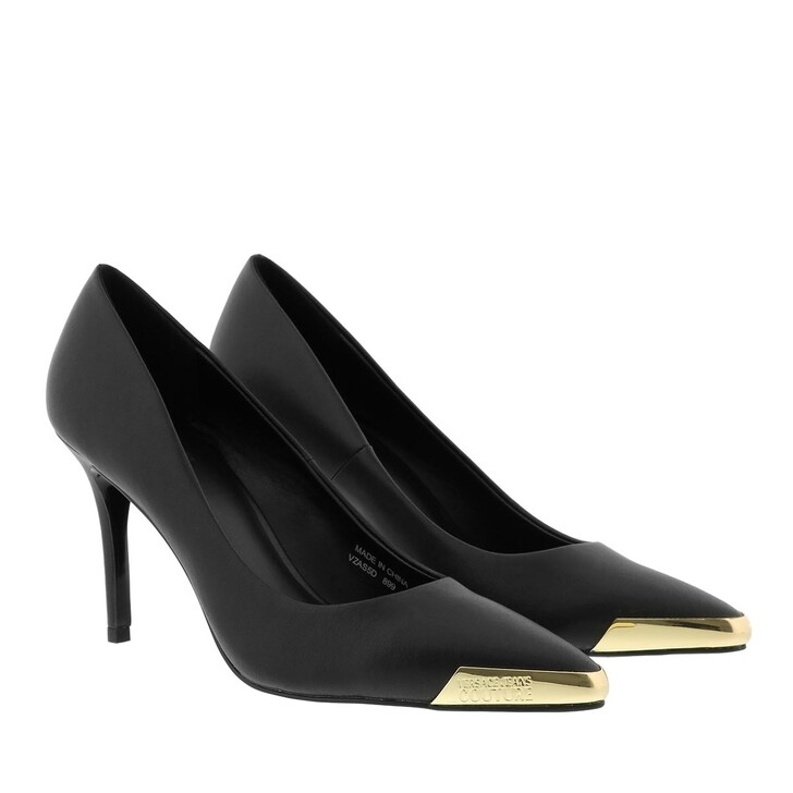 Schuh, Versace Jeans Couture, Linea Fondo Chloe Pumps Black