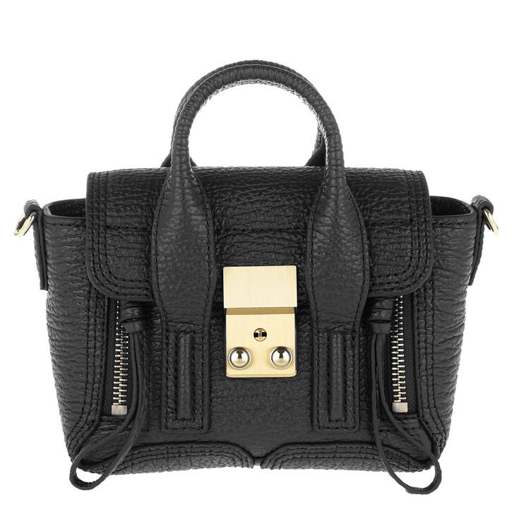 Handtasche, 3.1 Phillip Lim, Pashli Nano Satchel Black