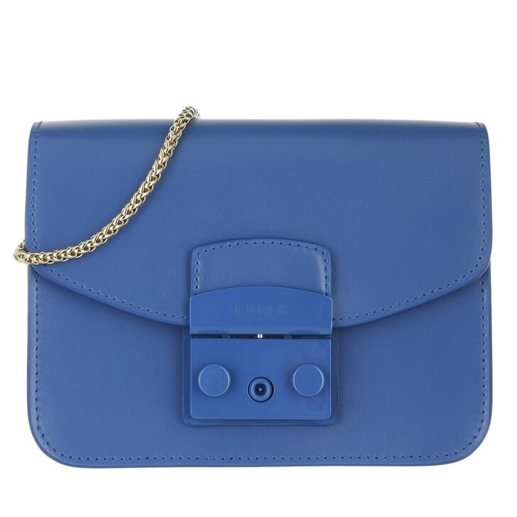 Handtasche, Furla, Metropolis Mini Crossbody Bluette I