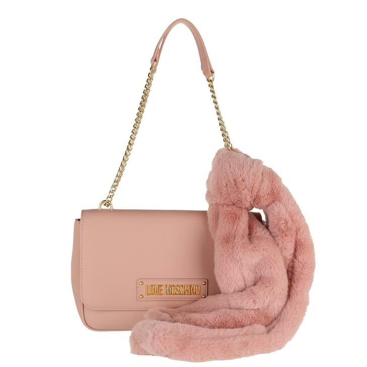 bags, Love Moschino, Borsa Pu  Rosa