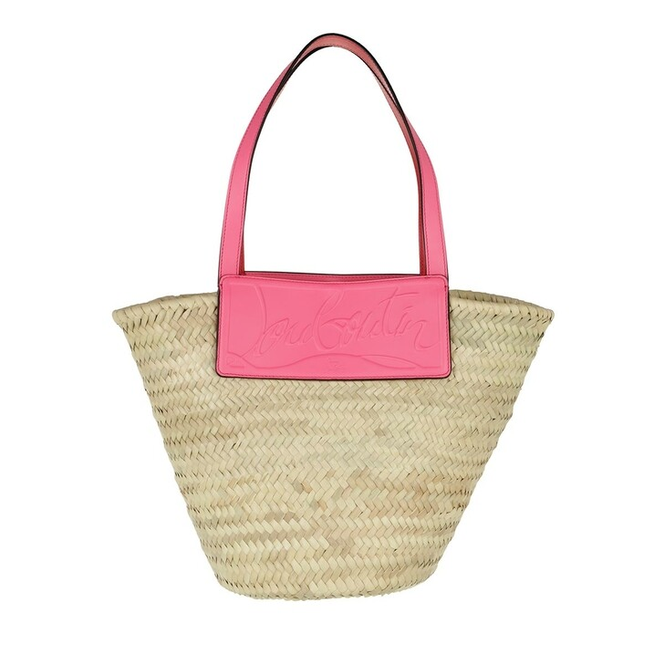 bags, Christian Louboutin, Loubishore Shoulder Bag Natural Pink