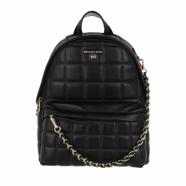 Reisetasche, MICHAEL Michael Kors, Slater Medium Backpack Black