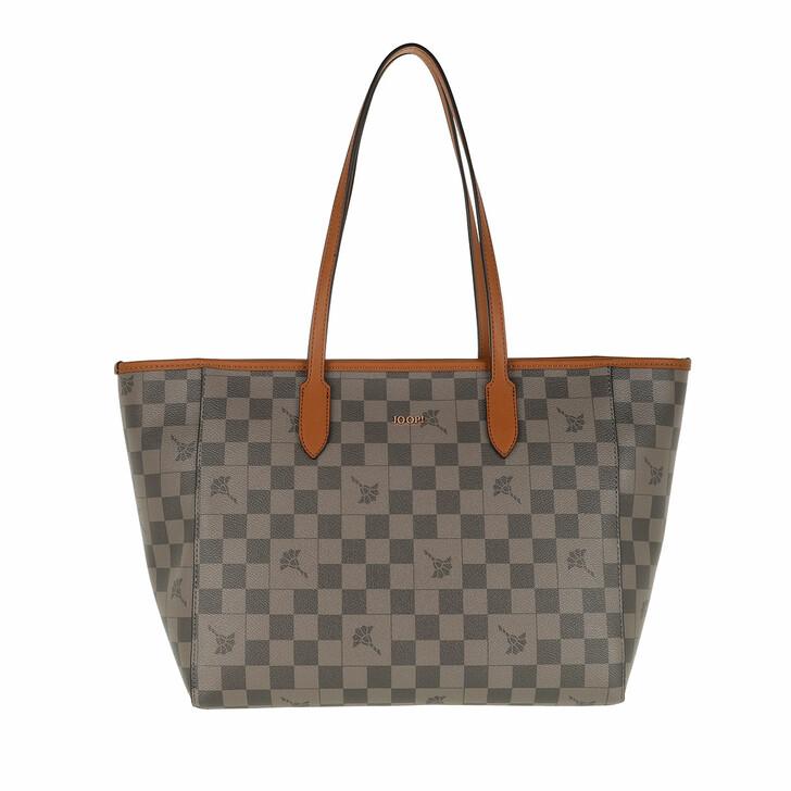 Handtasche, JOOP!, Cortina Piazza Carmen Shopper Lhz Darkgrey